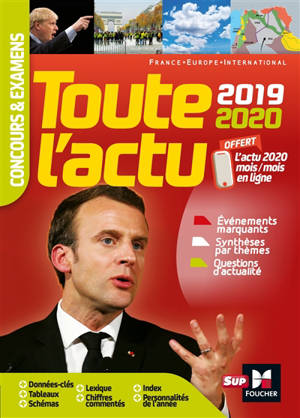 Toute l'actu 2019-2020 : France, Europe, international