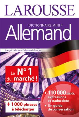 Allemand : dictionnaire mini + : français-allemand, allemand-français = Deutsch : Miniwörterbuch + : Französisch-Deutsch, Deutsch-Französisch