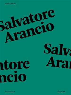 Pleased to meet you. n° 8, Salvatore Arancio