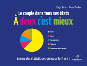 A deux c'est mieux : le couple dans tous ses états : encore des statistiques qui nous font rire !