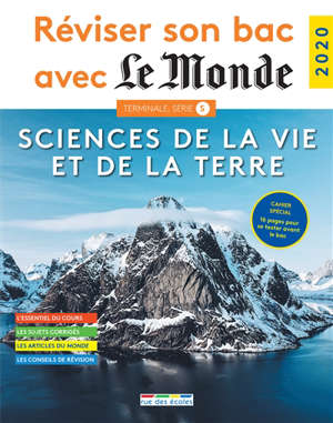 Sciences de la vie et de la Terre, terminale, série S