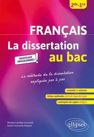 Français 2de, 1re : la dissertation au bac, nouveaux programmes : la méthode de la dissertation expliquée pas à pas