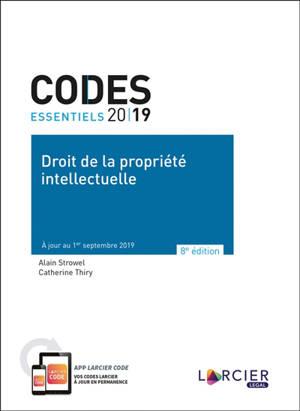 Droit de la propriété intellectuelle 2019
