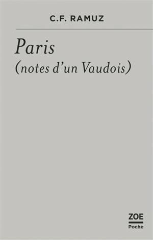 Paris (notes d'un Vaudois)