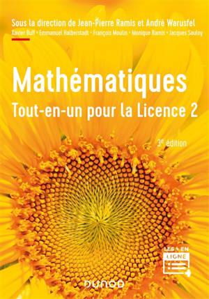 Mathématiques tout-en-un pour la licence 2