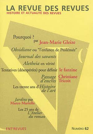 Revue des revues (La). n° 62