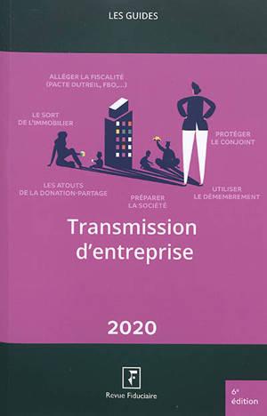 Transmission d'entreprise 2020