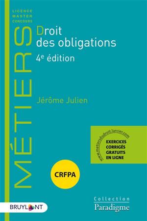 Droit des obligations : CRFPA