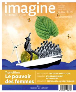 Imagine : demain le monde. n° 137, Transition : le pouvoir des femmes