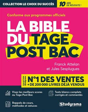 La bible du Tage post-bac