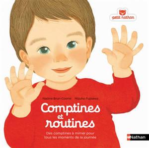 Comptines et routines : des comptines à mimer pour tous les moments de la journée