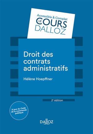 Droit des contrats administratifs : 2020
