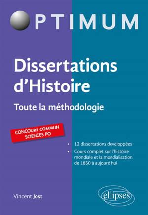 Dissertation d'histoire : toute la méthodologie