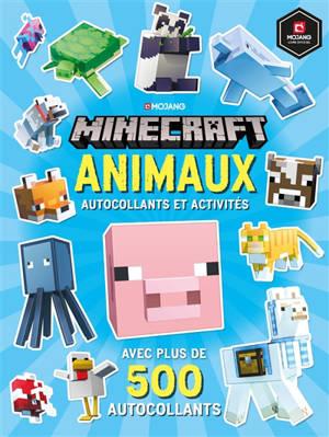 Minecraft : animaux : autocollants et activités (TP)