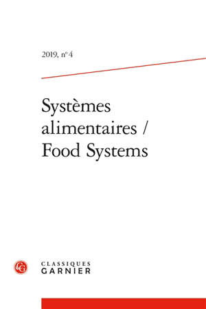 Systèmes alimentaires = Food systems. n° 4