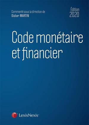Code monétaire et financier 2020