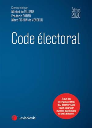 Code électoral : édition 2020