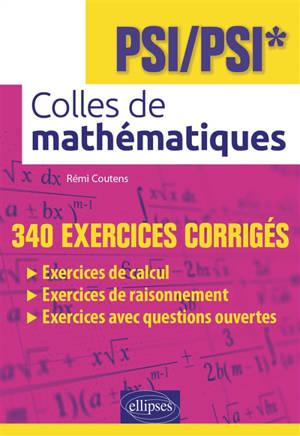 Colles de mathématiques : PSI-PSI*