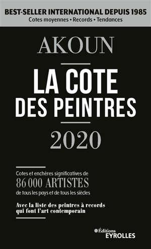 La cote des peintres 2020