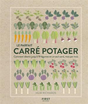 Le parfait carré potager : comment obtenir jusqu'à 19 légumes en un seul carré, mois par mois