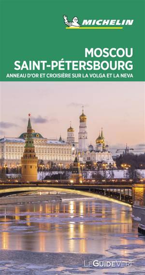 Moscou, Saint-Pétersbourg : l'Anneau d'Or, croisière sur la Volga et la Neva