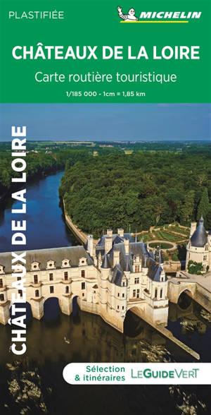 Chateaux de la Loire : carte routière et touristique