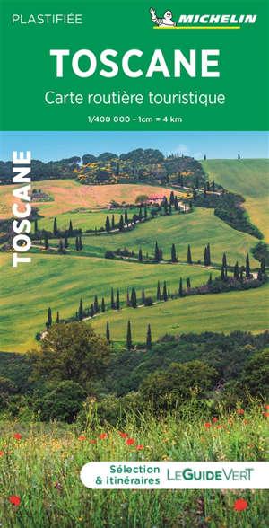 Toscane : carte routière et touristique