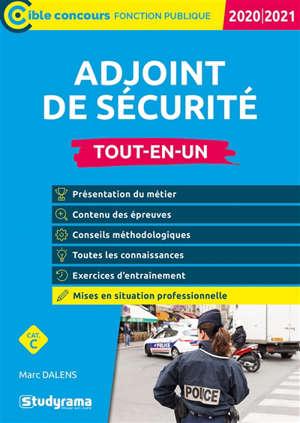 Adjoint de sécurité : tout-en-un, catégorie C : 2020-2021