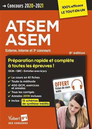 ATSEM, ASEM : externe, interne et 3e concours : concours 2020-2021