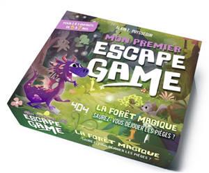 Mon premier escape game : la forêt magique