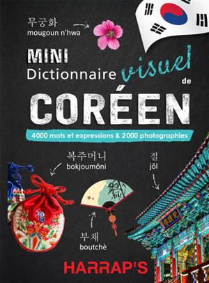 Mini dictionnaire visuel de coréen : 4.000 mots et expressions & 2.000 photographies