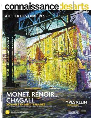 Monet, Renoir... Chagall, voyages en Méditerranée : Yves Klein, l'infini bleu : Atelier des lumières