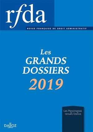 RFDA, les grands dossiers 2019