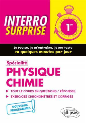 Spécialité physique chimie 1re : nouveaux programmes