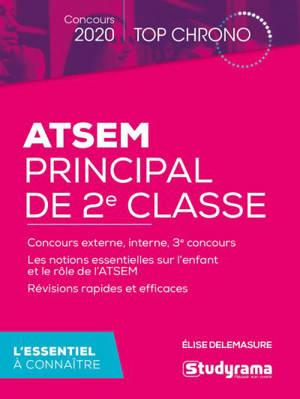 ATSEM principal de 2e classe : concours 2020 : l'essentiel à connaître