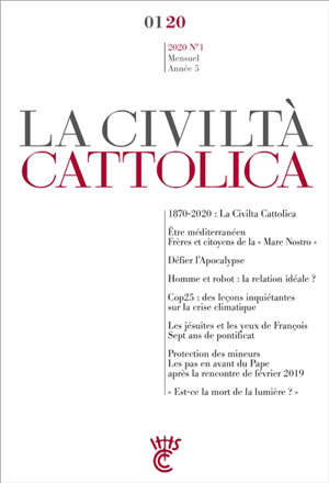Civiltà cattolica (La). n° 1 (2020)