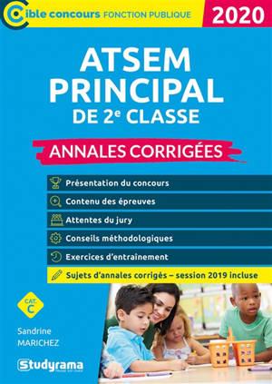 ATSEM principal de 2e classe : annales corrigées, catégorie C : 2020