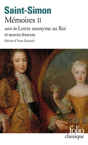 Mémoires. Volume 2, 1700-1703