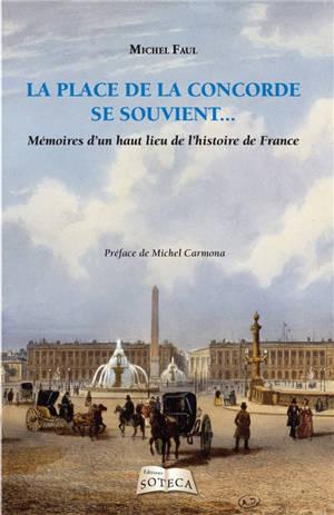 La place de la Concorde se souvient