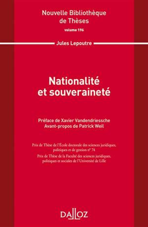 Nationalité et souveraineté