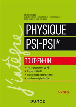 Physique PSI-PSI* : tout-en-un