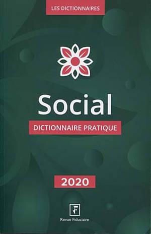 Social : dictionnaire pratique 2020