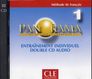 Panorama de la langue française, niveau 1 : entraînement individuel, méthode de français : 1 double CD audio