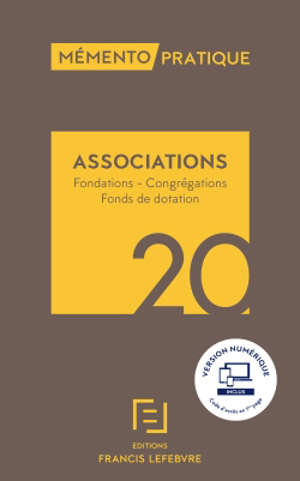Associations : fondations, congrégations, fonds de dotation : 2020