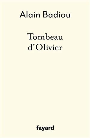 Tombeau d'Olivier