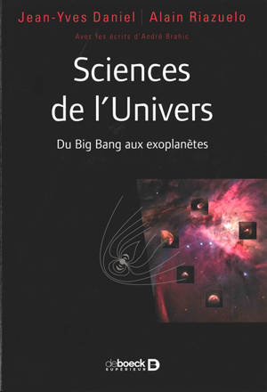 Sciences de l'Univers : du big bang aux exoplanètes