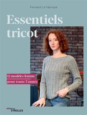 Essentiels tricot : 12 modèles femme pour toute l'année