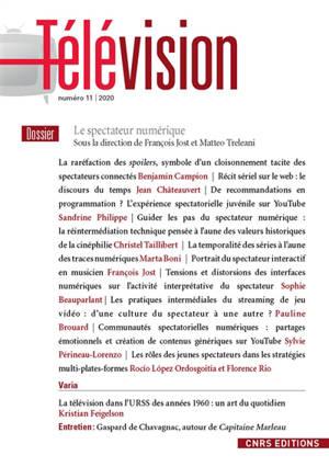 Télévision. n° 11, Le spectateur numérique