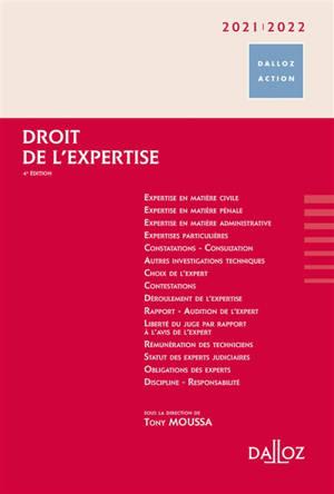Droit de l'expertise : 2020-2021