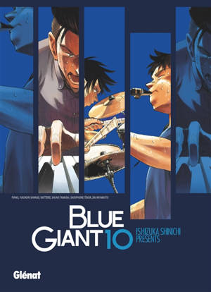 Blue giant : tenor saxophone, Miyamoto Dai. Volume 10